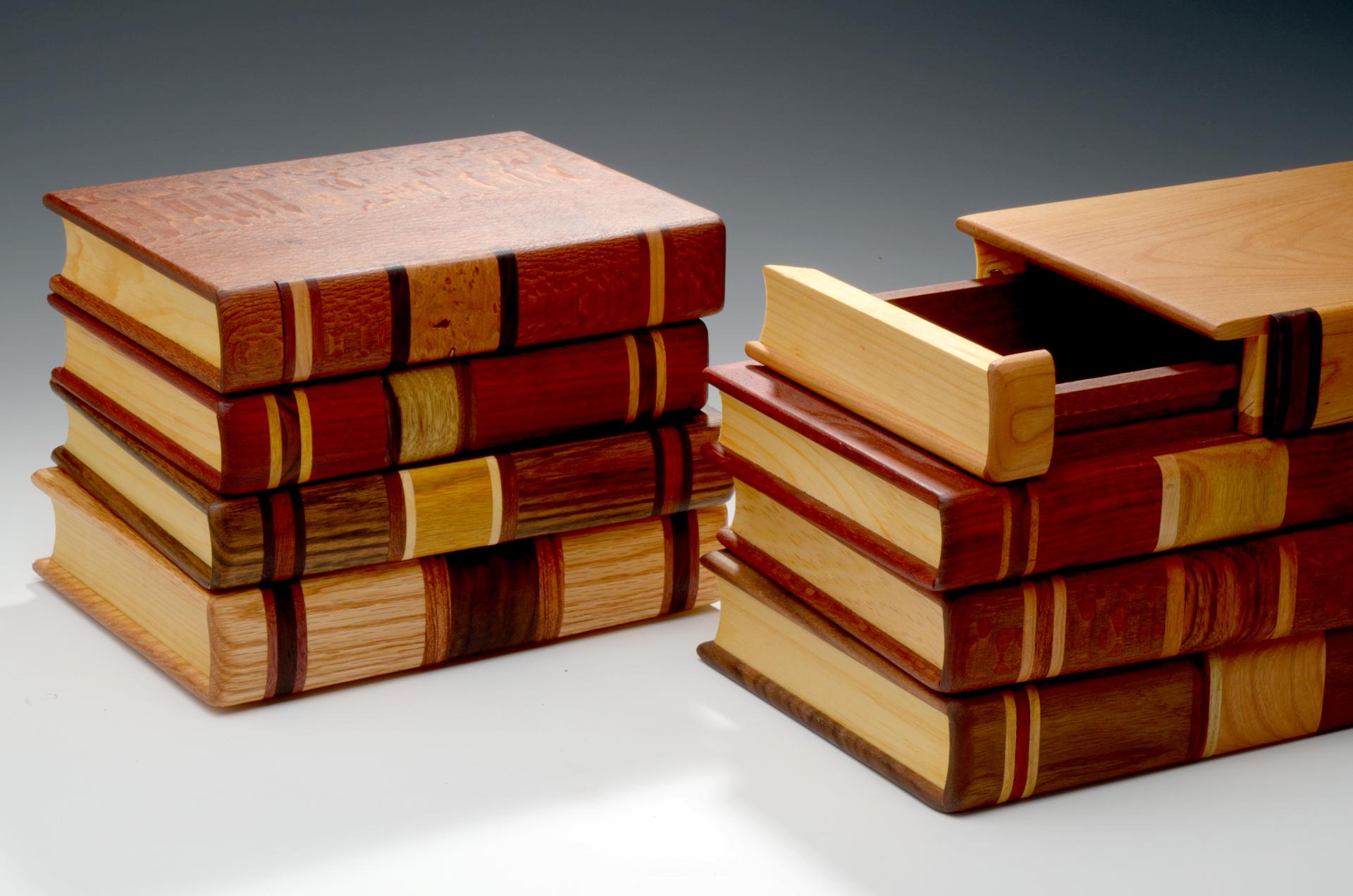 Stacked Wooden Jewelry Box Style Guru Fashion Glitz